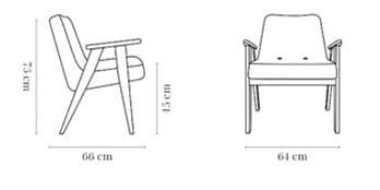 366 concept fotel 366 wymiary
